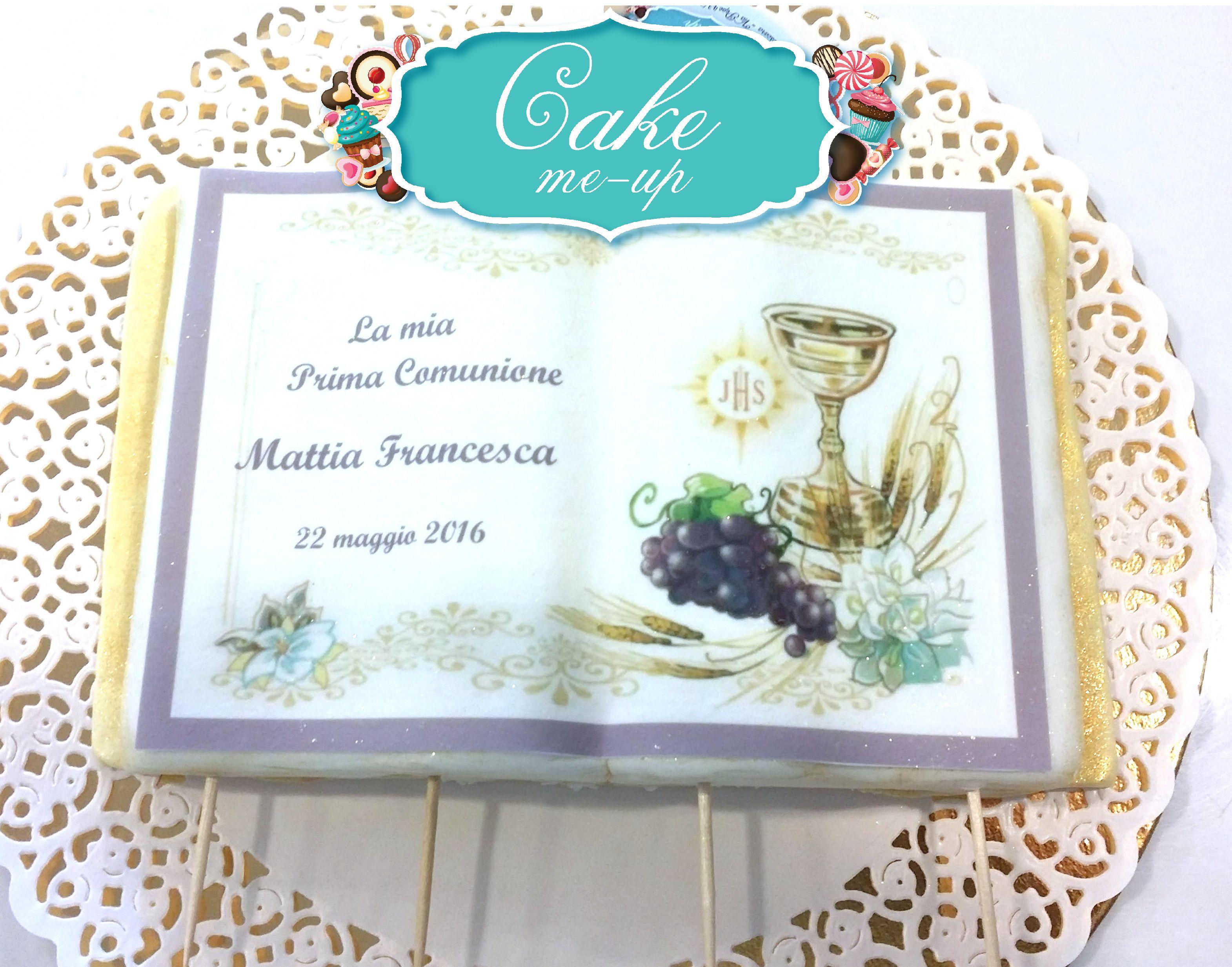 #pescara #cakemeup #pastadizucchero #decorazione #topper #cake #torta #compleanno #comunione