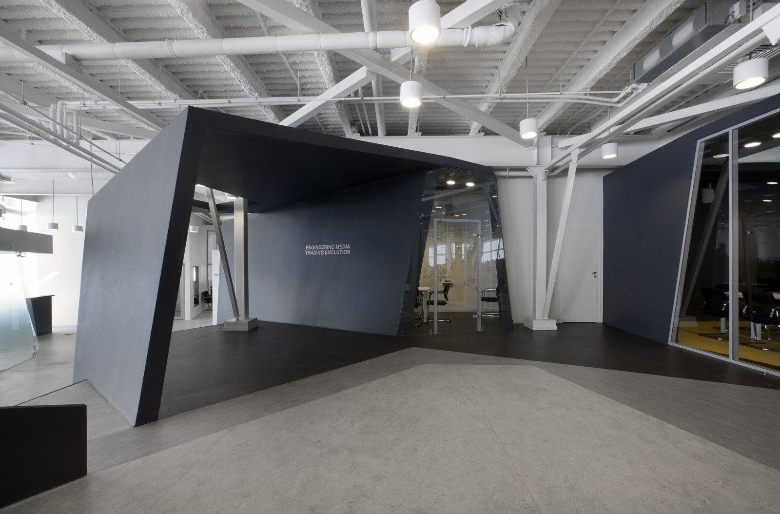 Color art office interiors - Gallery Of Iponweb Company Office Za Bor Architects 2 Interior Officeoffice Artoffice