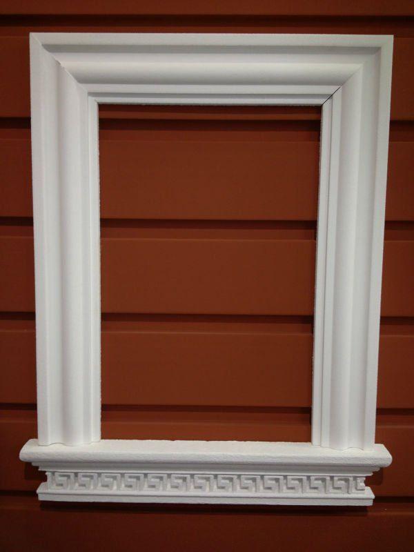 Resultado de imagen para molduras para ventanas cuartos for Puertas decorativas para interiores