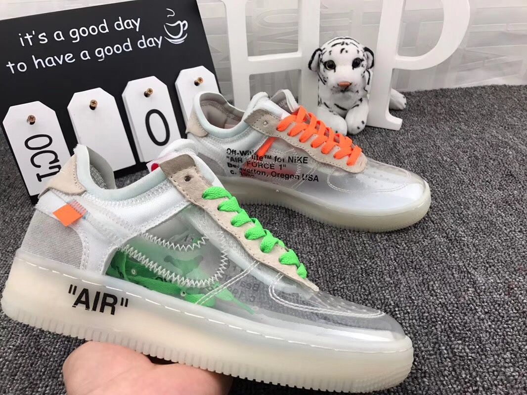 OFF White x Air Force 1 low | Aesthetic shoes, Off white