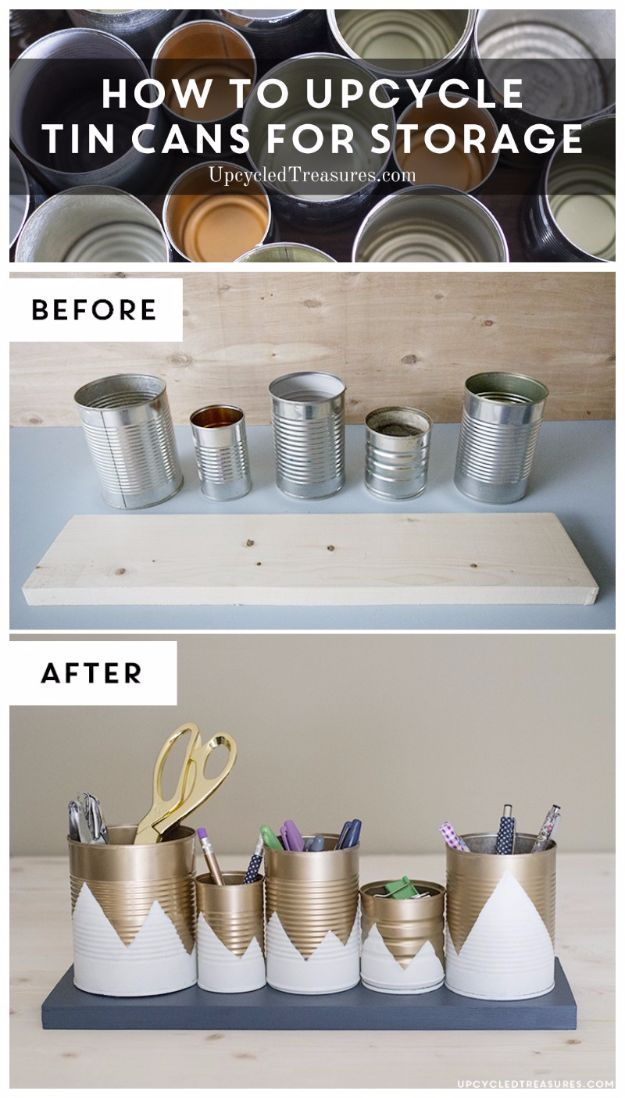 Photo of 31 Creative DIY Ideas Made From Tin Cans