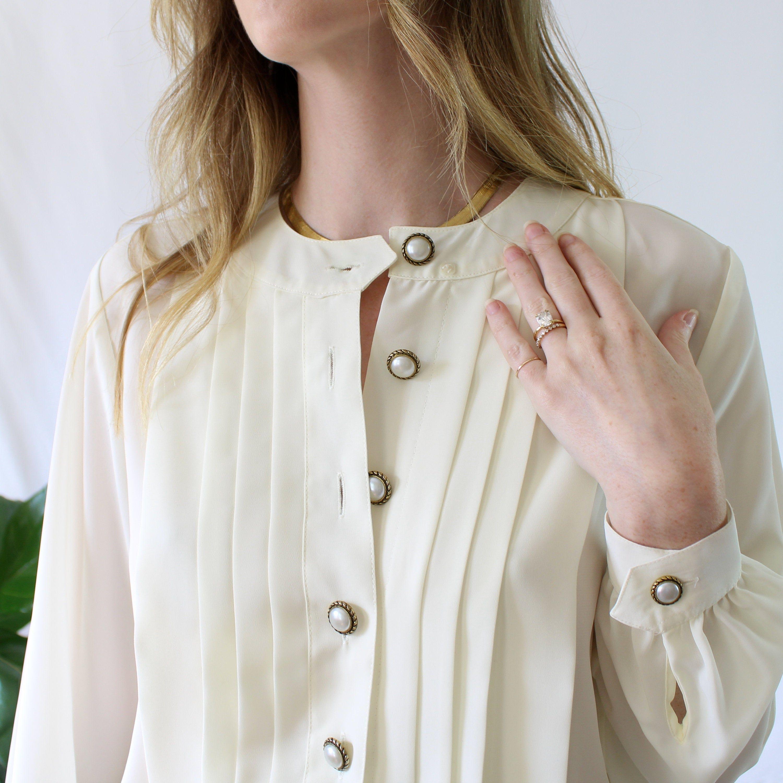 "X//LSleeve SLIMMER FIT WHITE Pleat Front Reg Collar Dinner Dress Shirt 14.5/""-18/"""