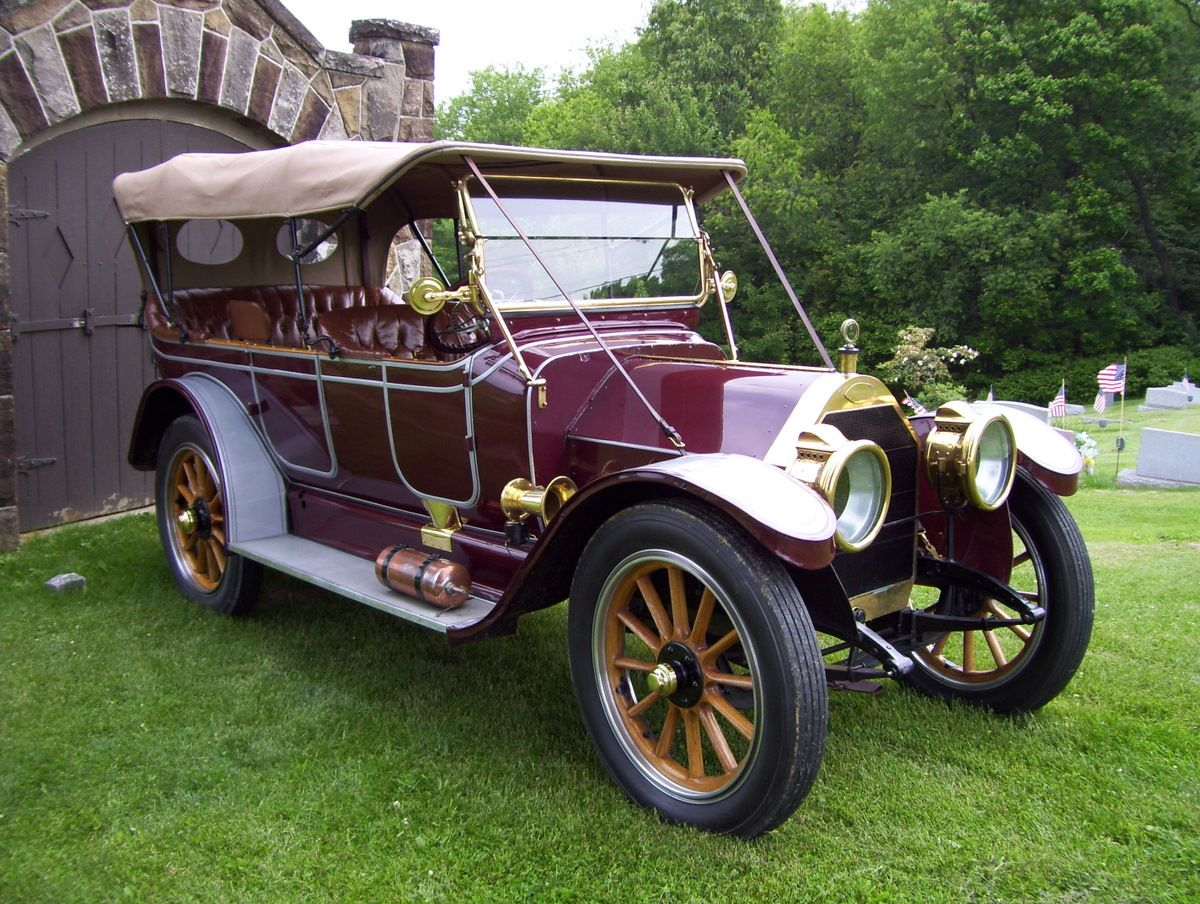 1909 Huselton 7 Passenger Touring - In 1906 Edgar C. Huselton came ...