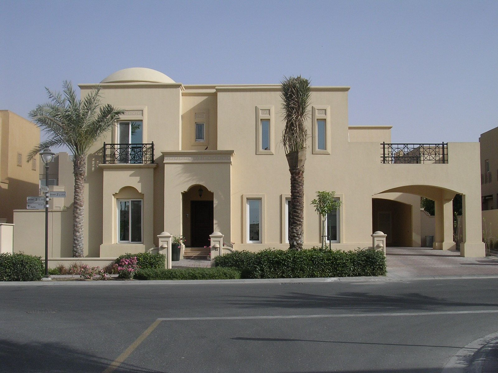 Emirati dibai villa modern contemporary arabic for Modern house villa