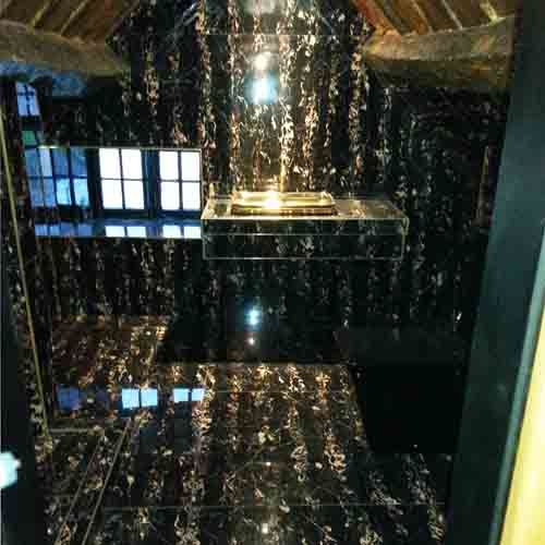 Luxury Ensuite Wetroom At The Crazy Bear Hotel Featuring Giant