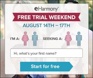 Online dating trial offers