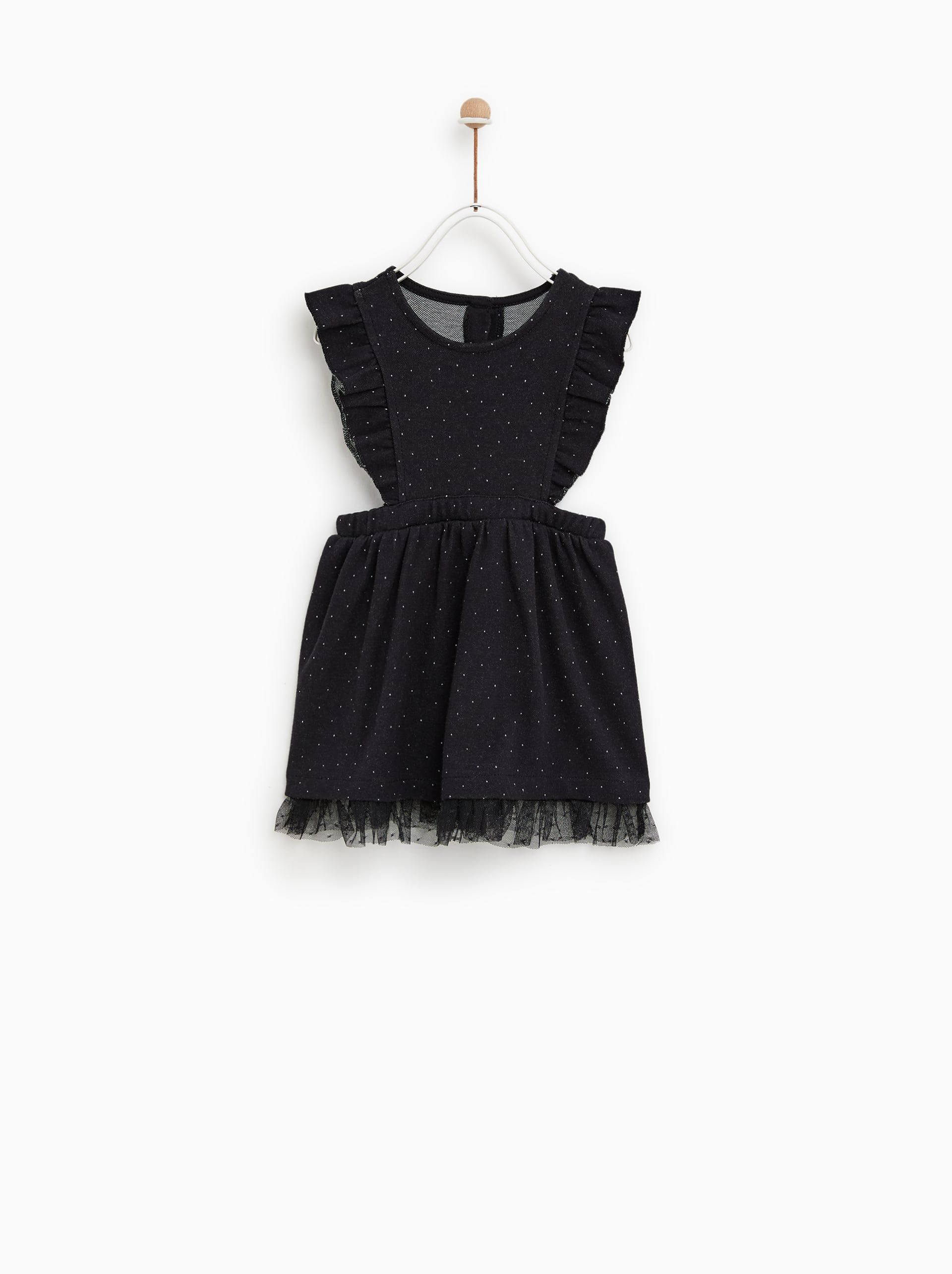 928fce1f7b3c Image 1 of DOTTED MESH TULLE DRESS from Zara  kidshalloweenfashion   kidshalloweenparty  childrenshalloweenfashion  childrenshalloween  zara
