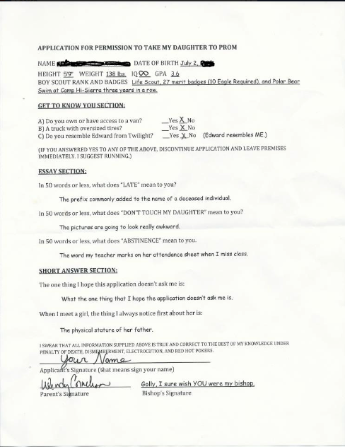Application for dating my daughter in Melbourne