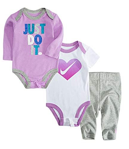 668073cc9f044e Beautiful Nike Jordan Infant Newborn Baby 2 Bodysuits and 1 Pants 3 Pieces Layette  Set.   37.99 - 59.98  allfashiondress from top store
