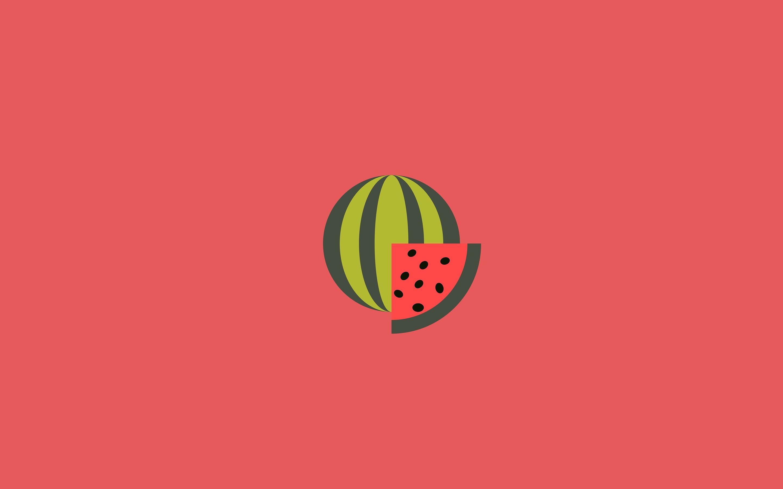 Food Artistic Minimalist Watermelon 2k Wallpaper Hdwallpaper Desktop In 2021 Minimalist Desktop Wallpaper Minimal Wallpaper Aesthetic Desktop Wallpaper