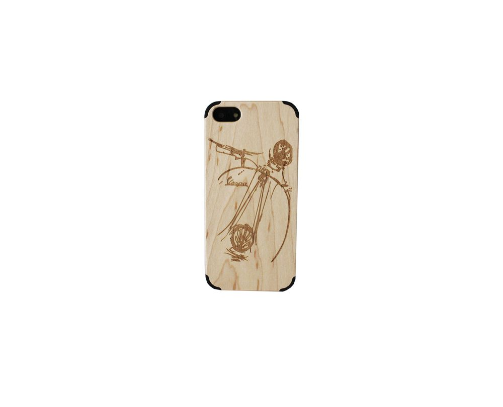 Bamvu' #wooden #iphone #case - Old #Vespa50cc Style www.bamvu.it
