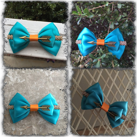 Baby & Toddler Clothing Brave Blue Bow Baby Headband