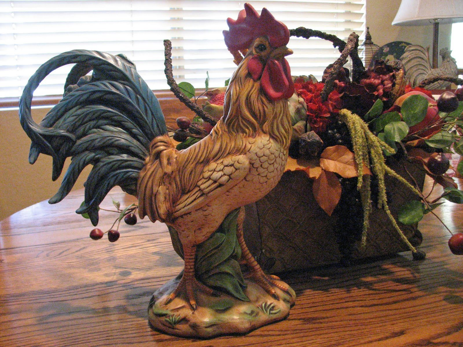 Ceramic rooster I bought one very much like this one at a great