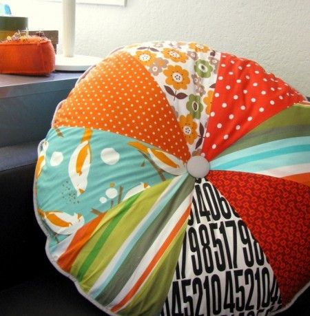 Make Your Own Floor Pillows | Floor pillows, Pillows and Sewing ideas