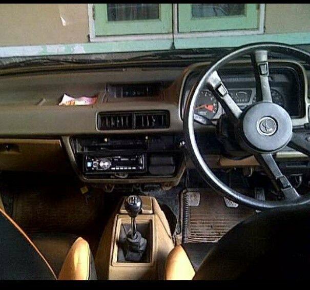 My 1981 Honda Accord Interior
