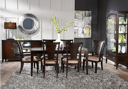 Shop For A Metropolitan Place 5 Pc Dining Room At Rooms To Go Simple Rooms To Go Dining Sets Decorating Design