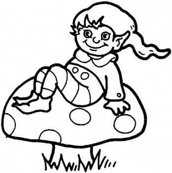 elf coloring pages with images  coloring pages fairy