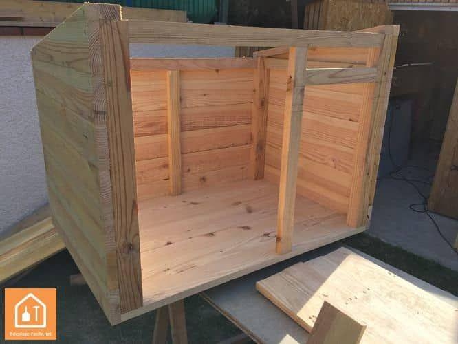 fabrication d 39 une niche pour chien niche pinterest niche pour chien niche et niche chien. Black Bedroom Furniture Sets. Home Design Ideas