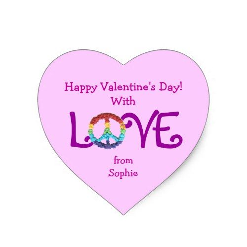 Sign Sticker For ValentineS Day