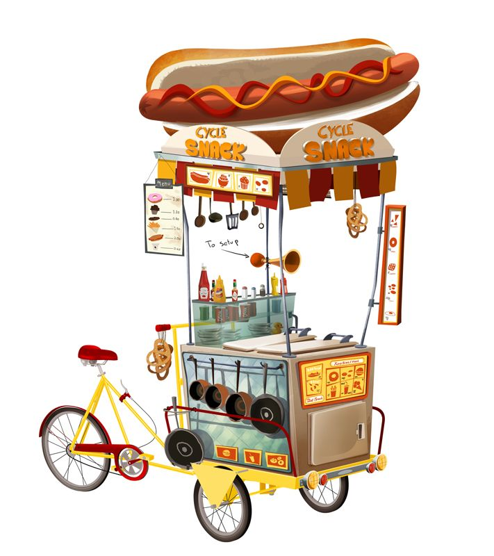 Concept Art Food Truck Pesquisa Google With Images Game