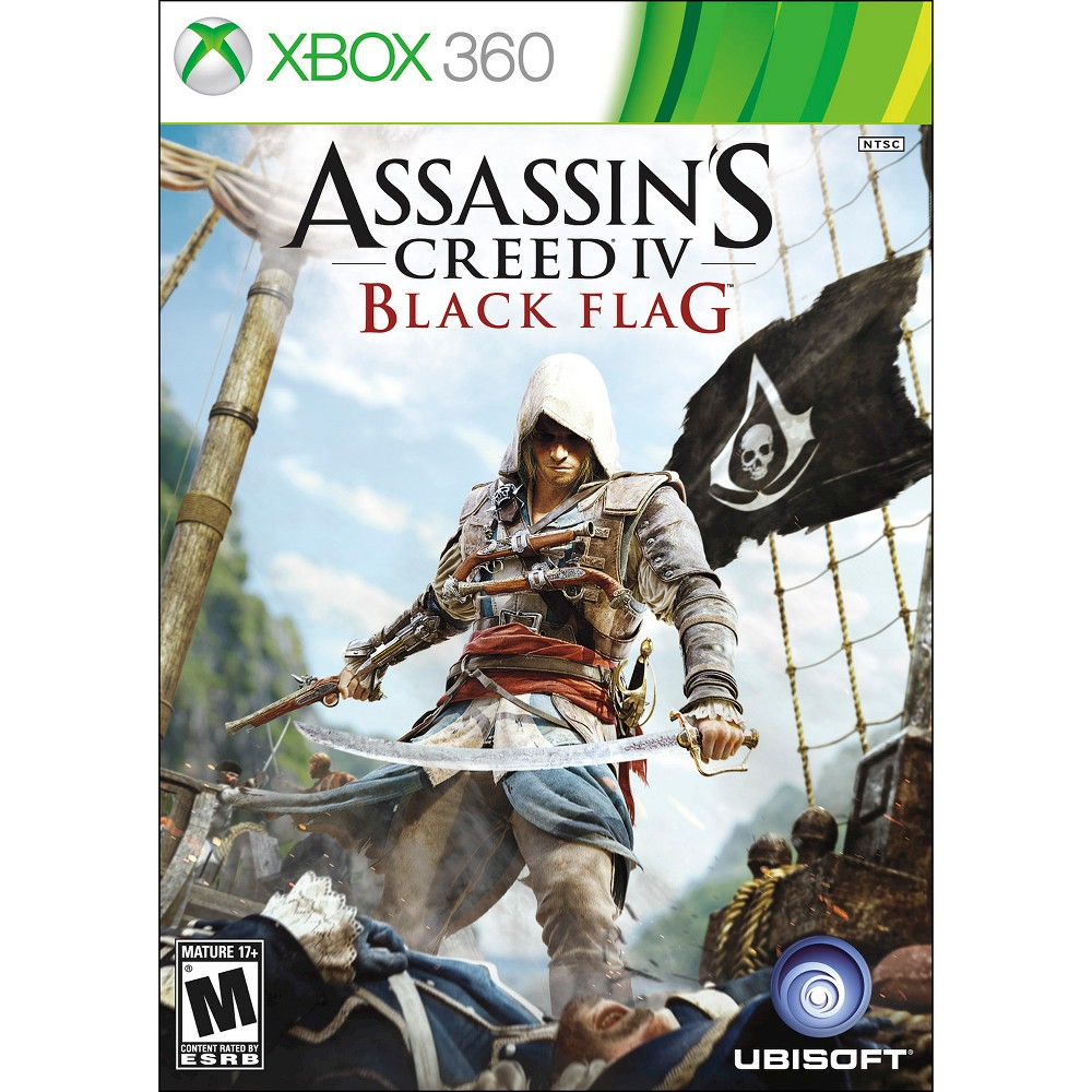 Assassin S Creed Iv Black Flag Pre Owned Xbox 360 Assassins