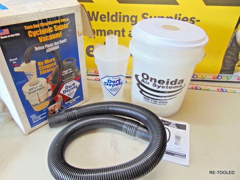 Dust Deputy Deluxe Vacuum Cyclone Separator Kit / Oneida