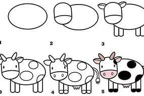 Kolay Hayvan çizimleri Yandexgörsel Kus Nasѭl çizilir Kuzu
