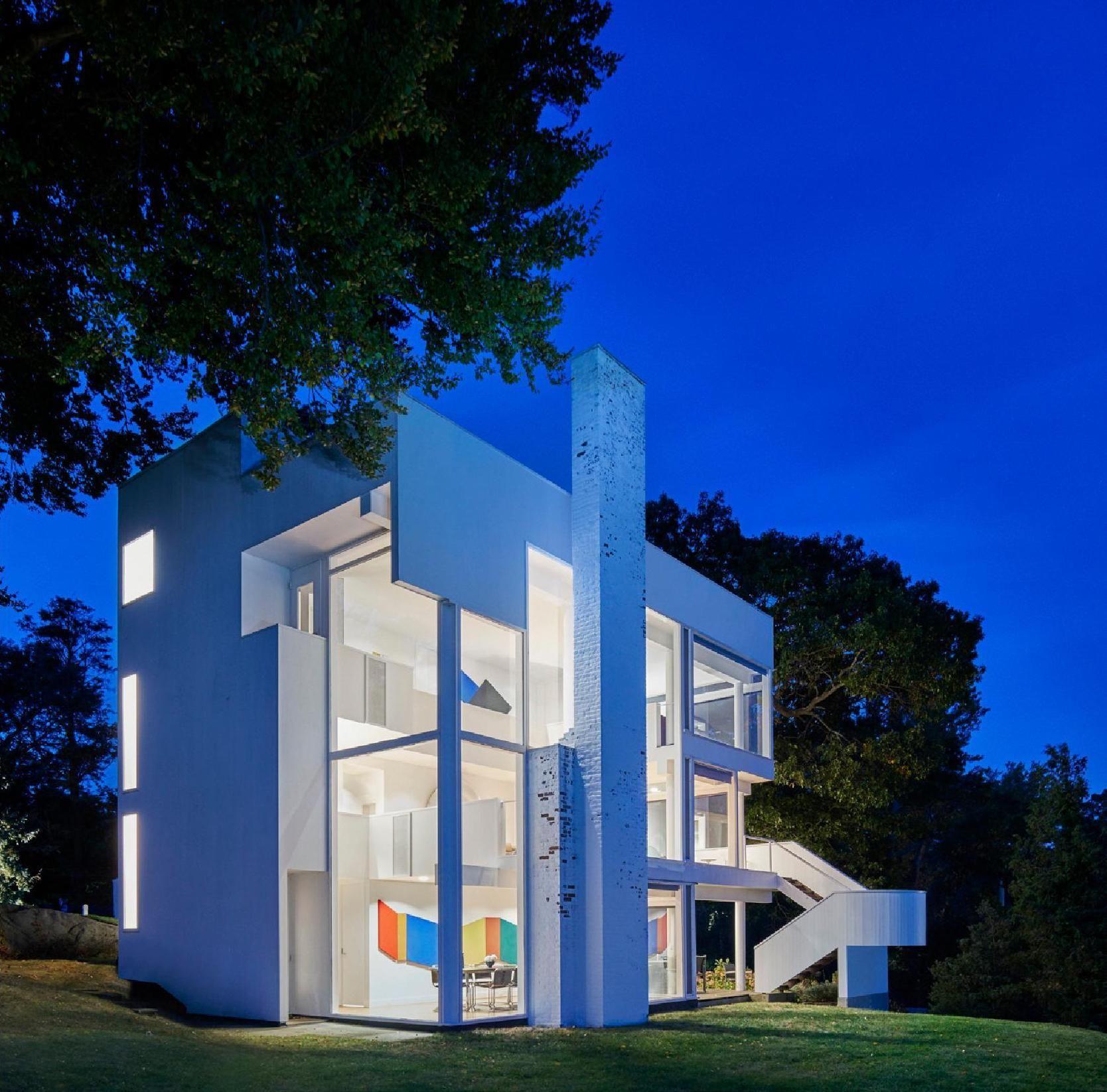 Gallery Of Ad Classics Smith House Richard Meier Partners