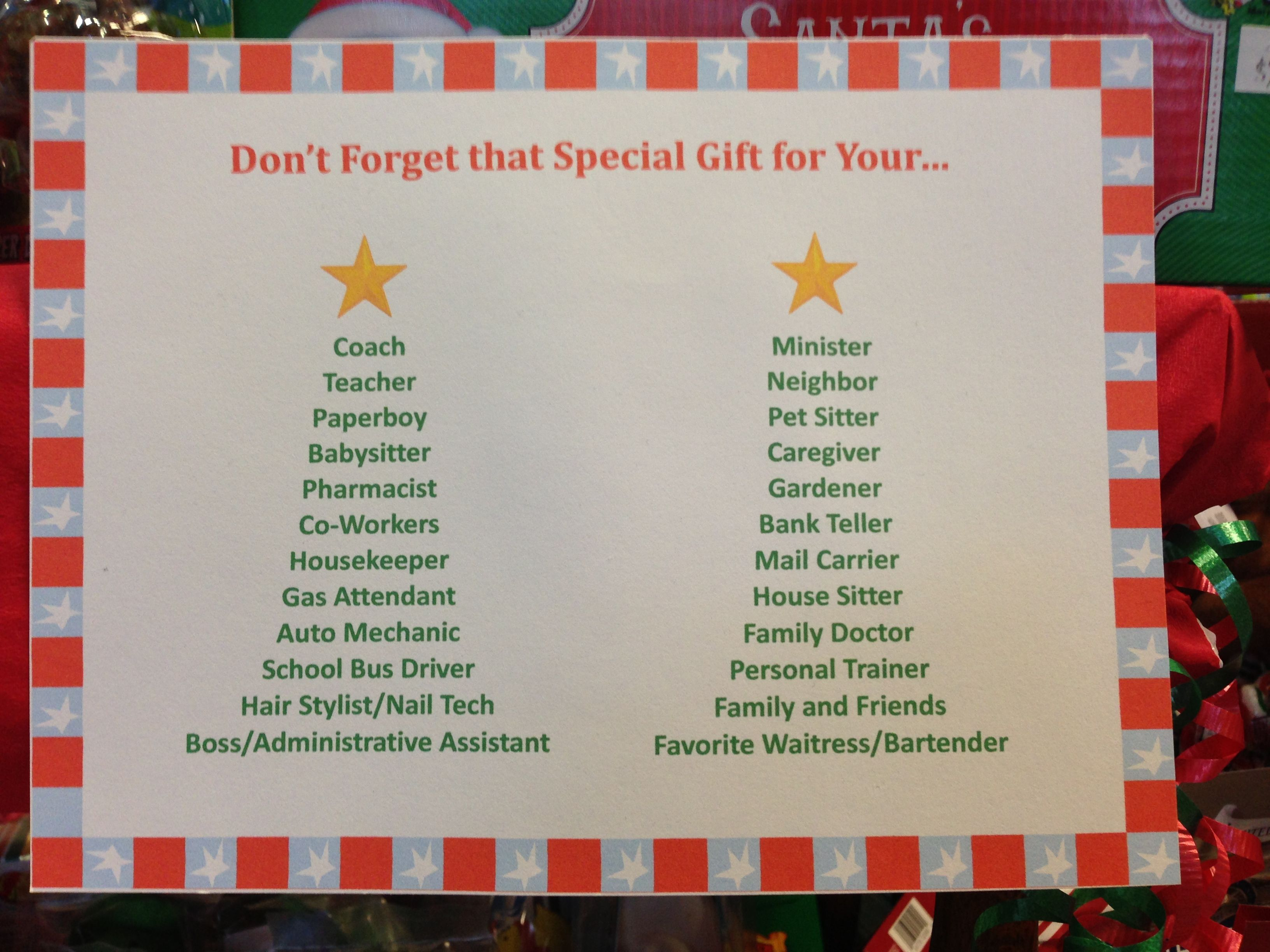 Check your list twice for sweet treats for the special people in your life.