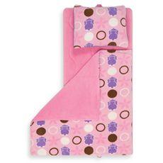 Aquatopia Hippo Pink Memory Foam Nap Mat With Pillow Bed Bath