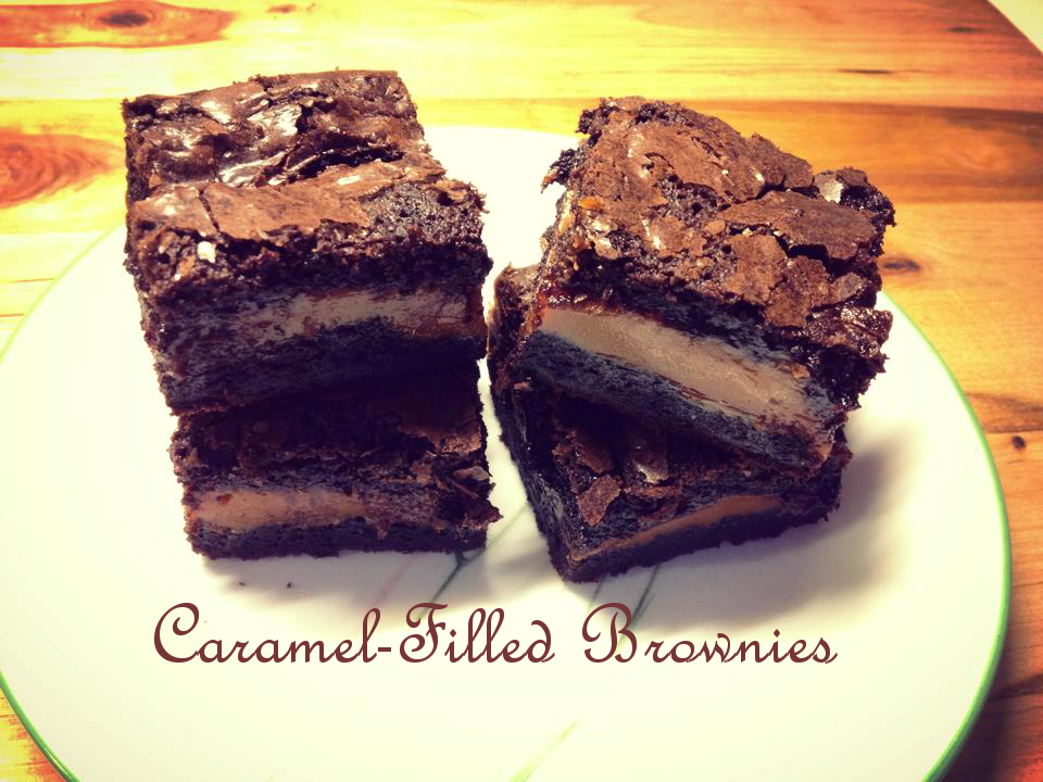 Sweet 'n' Savory Eats: Caramel Filled Brownies
