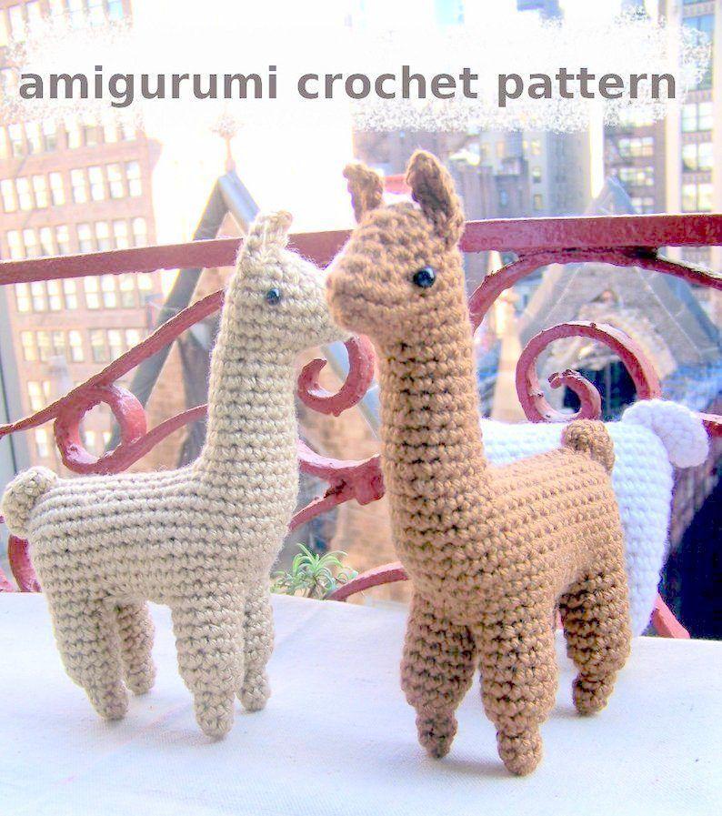 Adorable Crochet Llamas | 897x794