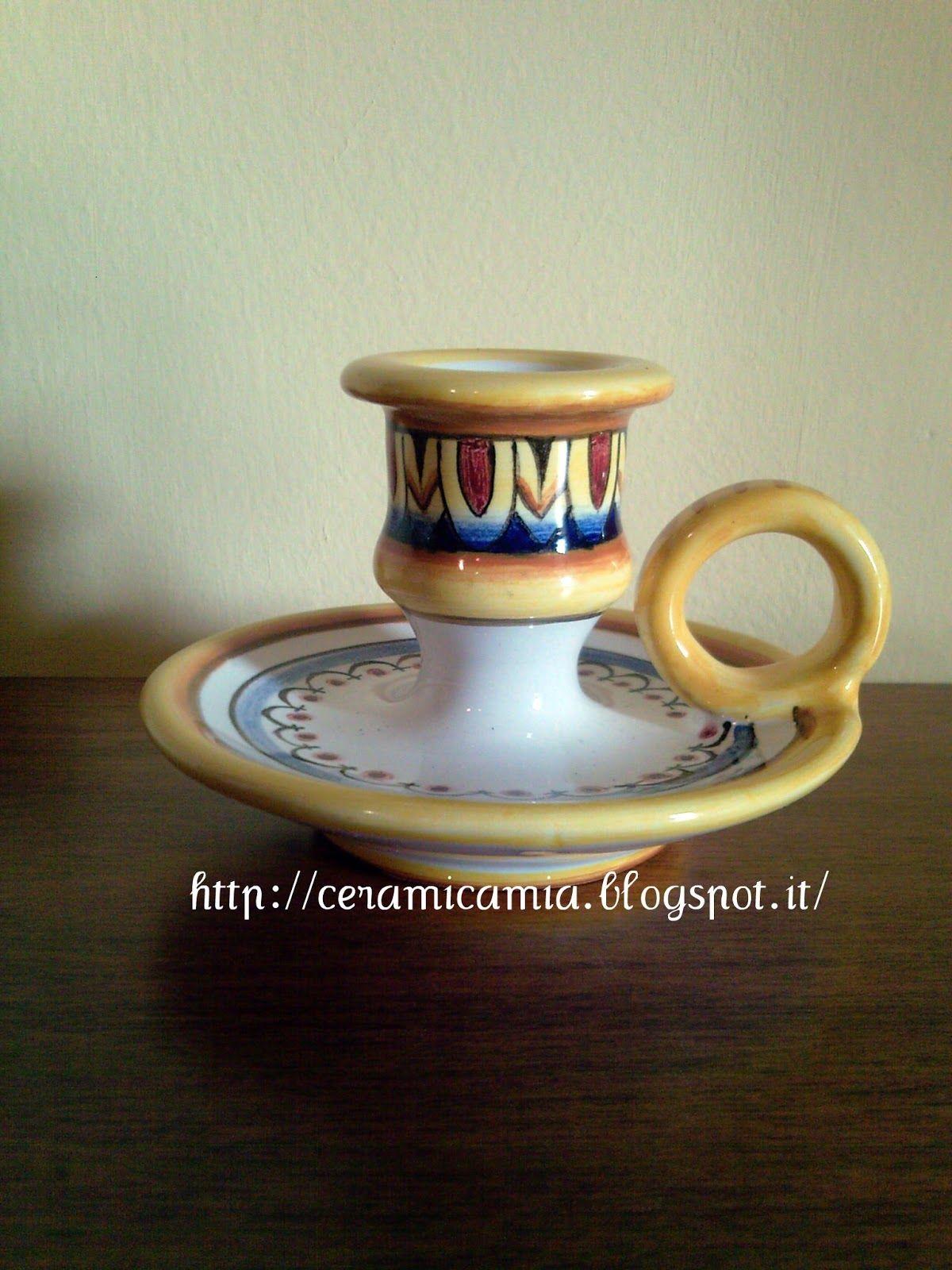 Le bugie dipinte decorative ceramics by me ceramica for Arredamento artistico