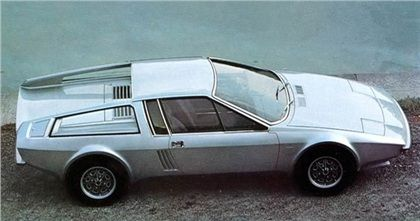 Audi 100S Coupe Speciale (Frua), 1974