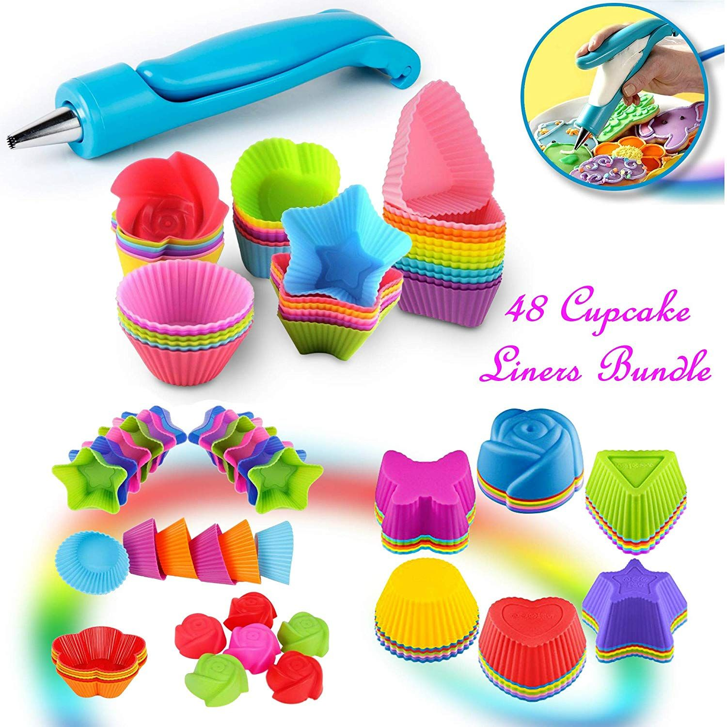 Home   WLFS   Baking cups, Cake mold, Muffin cups