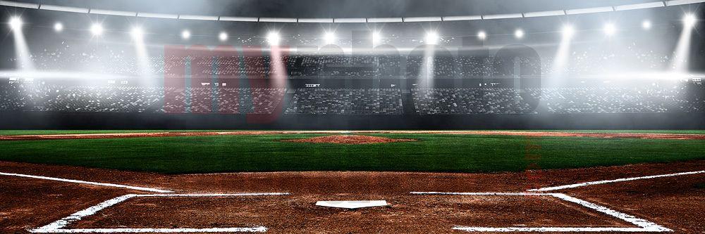 Digital Background Baseball Stadium Panoramic Digital Background Panoramic Pictures Baseball Stadium