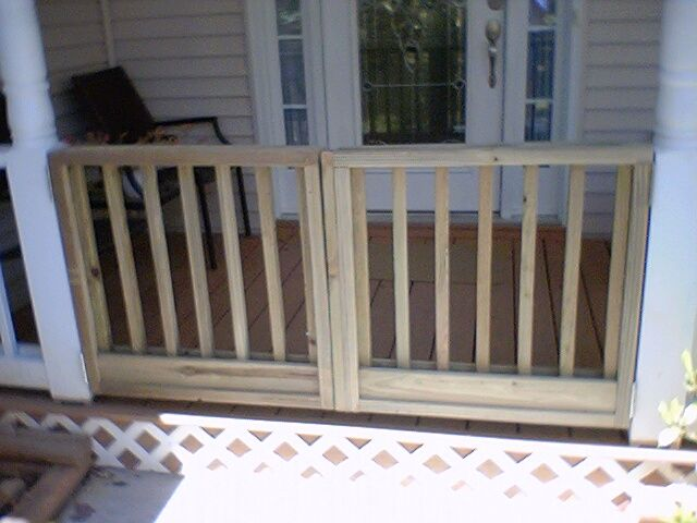 Nosworthy Front Porch Gate Brilliant For Child Safety