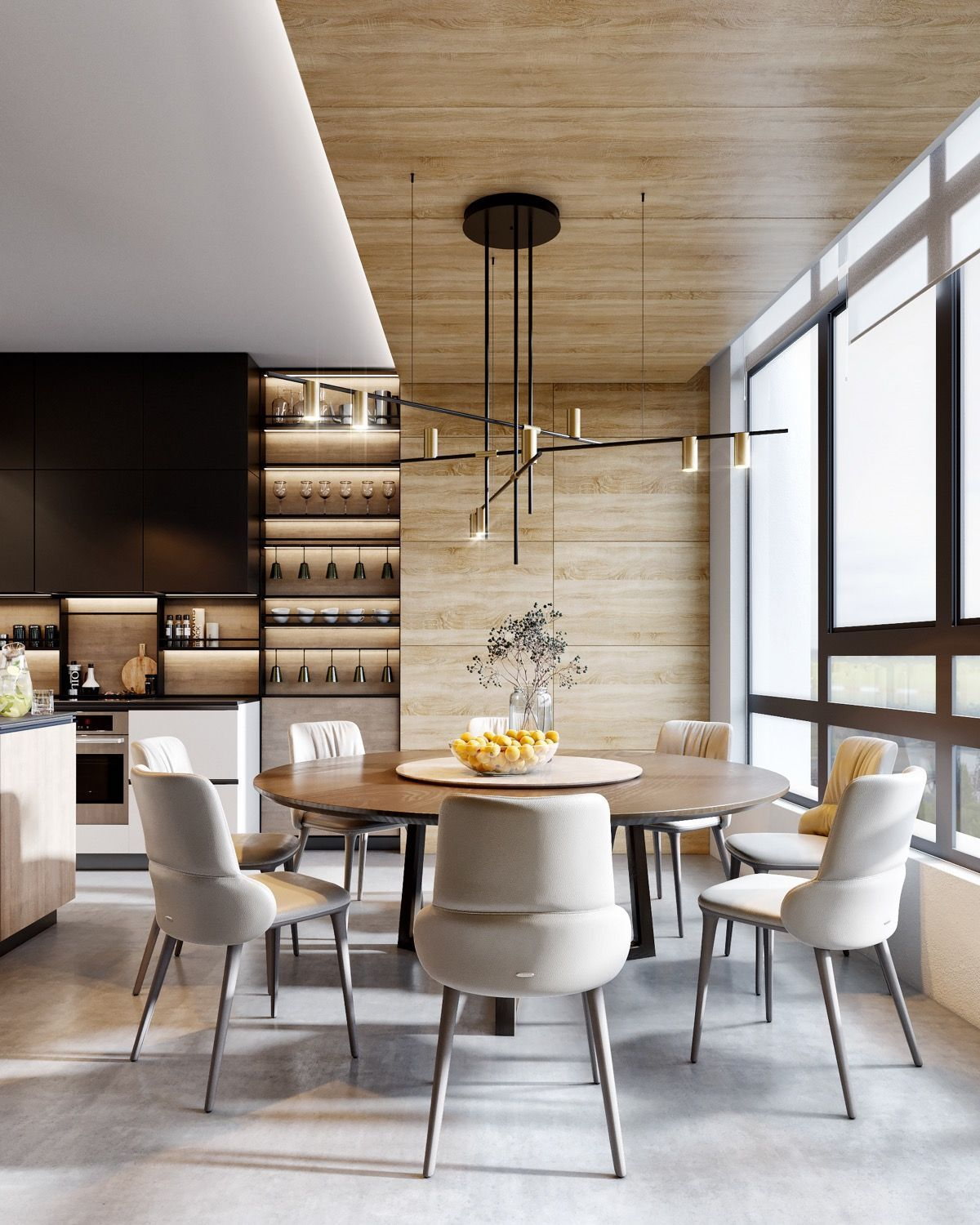 56 Kitchen Dining Room Design Ideas That Are Convenient For Eating