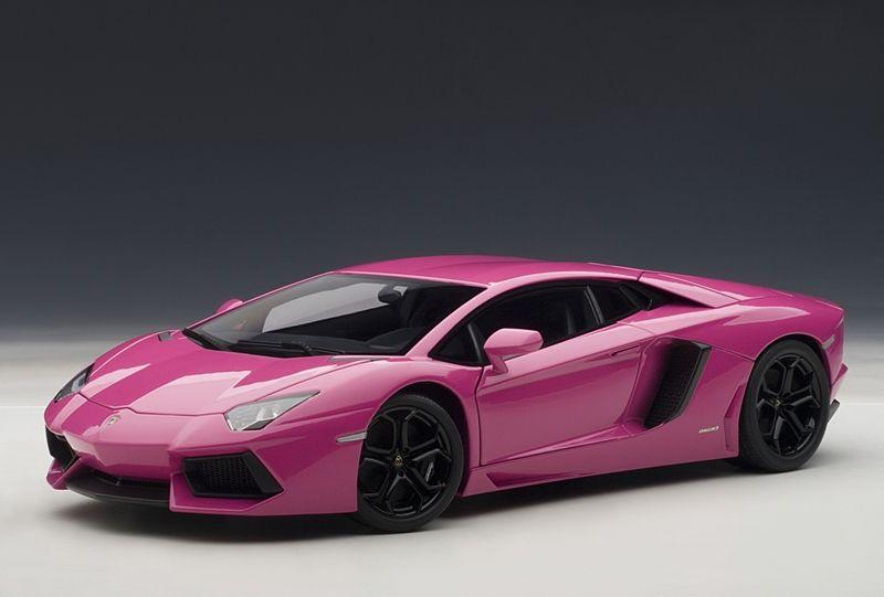 autoart lamborghini aventador lp700 4 pink 74660 in 118