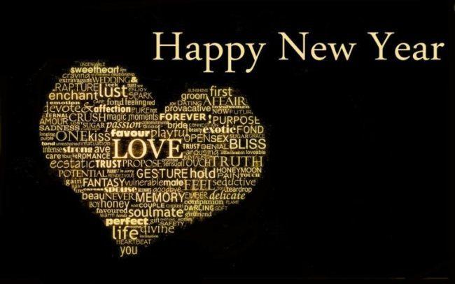 Romantic Happy New Year Wallpaper for Boyfriend 2019  Wallpaper