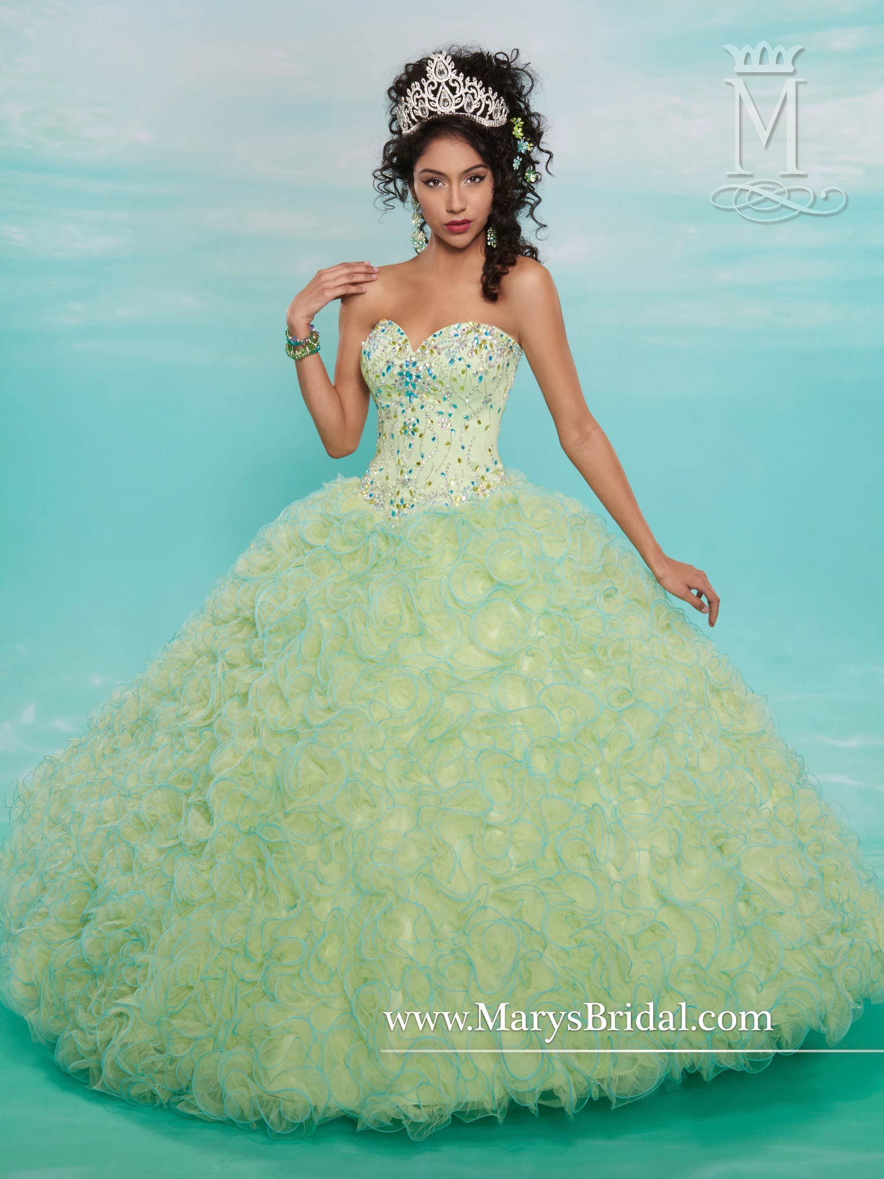 STYLE: F15-4603 Description: Beloving Sisters Collection tulle ...