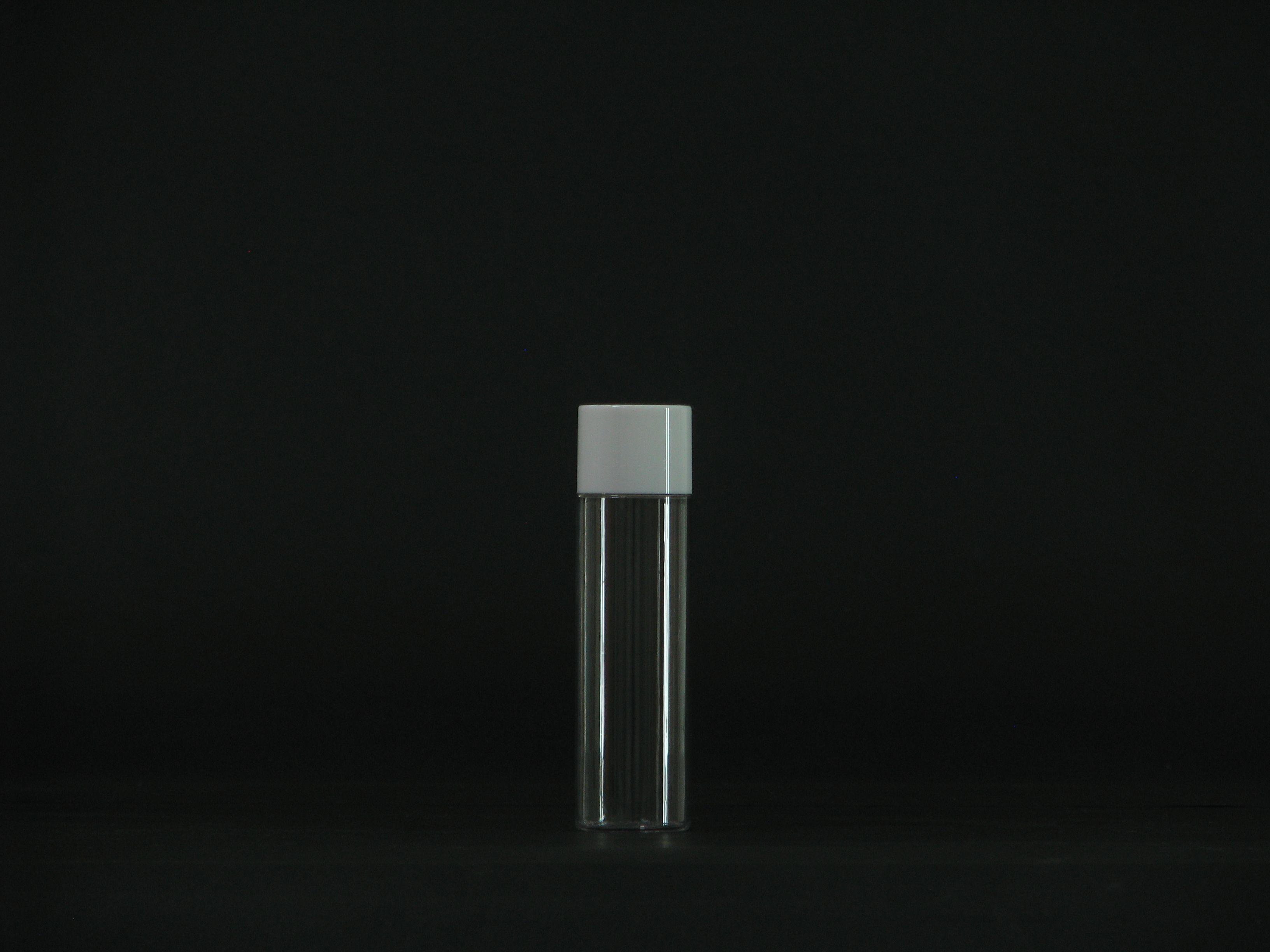 50ml wholesale empty clear sample packaging inner plug