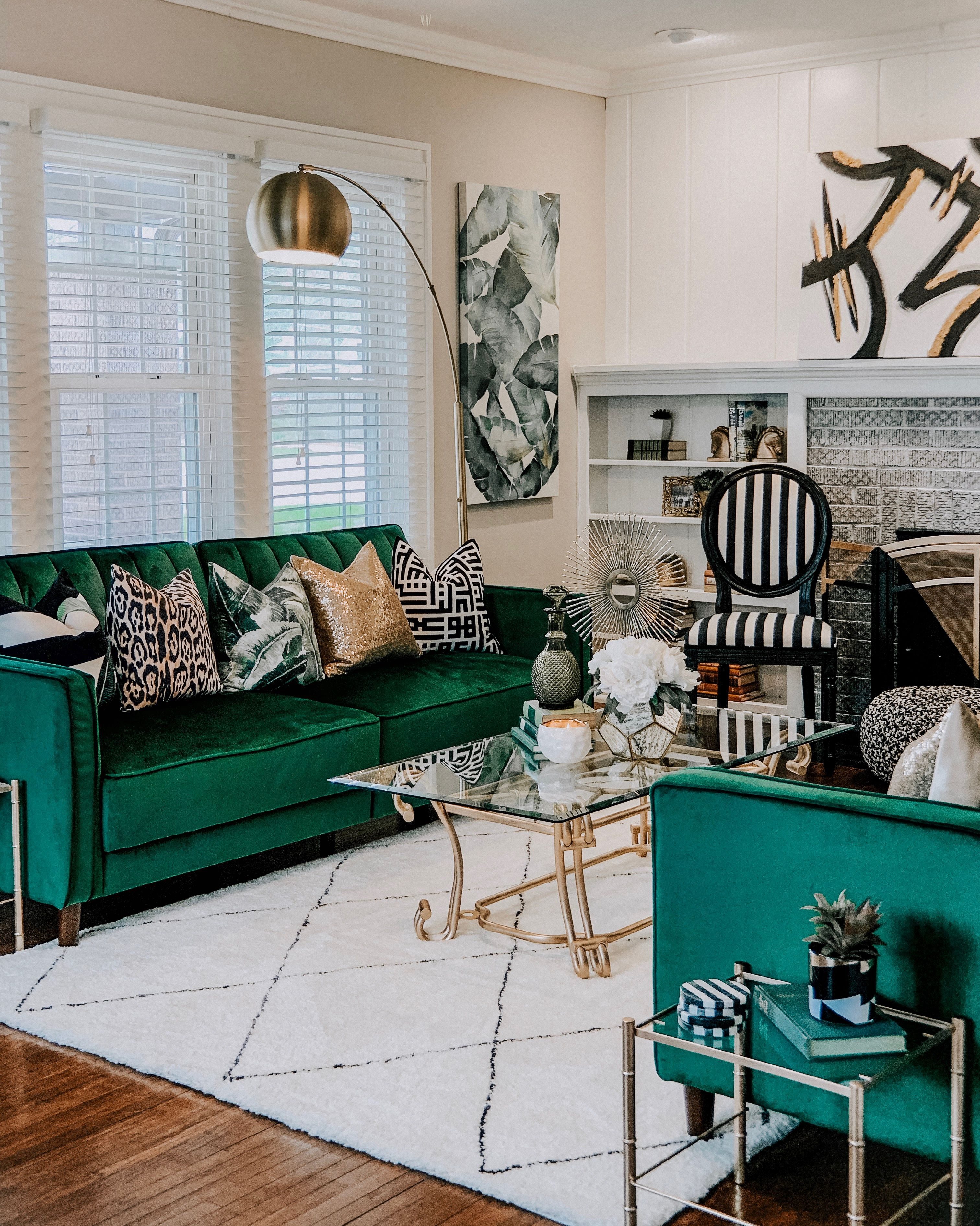 Modern Glam Living Room Decorating Ideas 19: Glam, Mid-Century, Modern, French Chic, Tropical Living