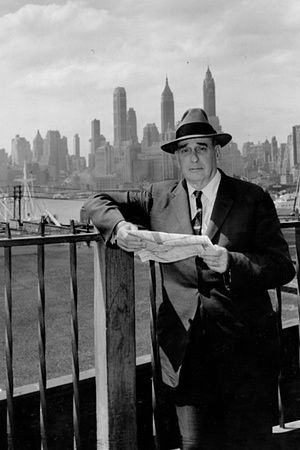 New York parks commissioner Robert Moses in 1956