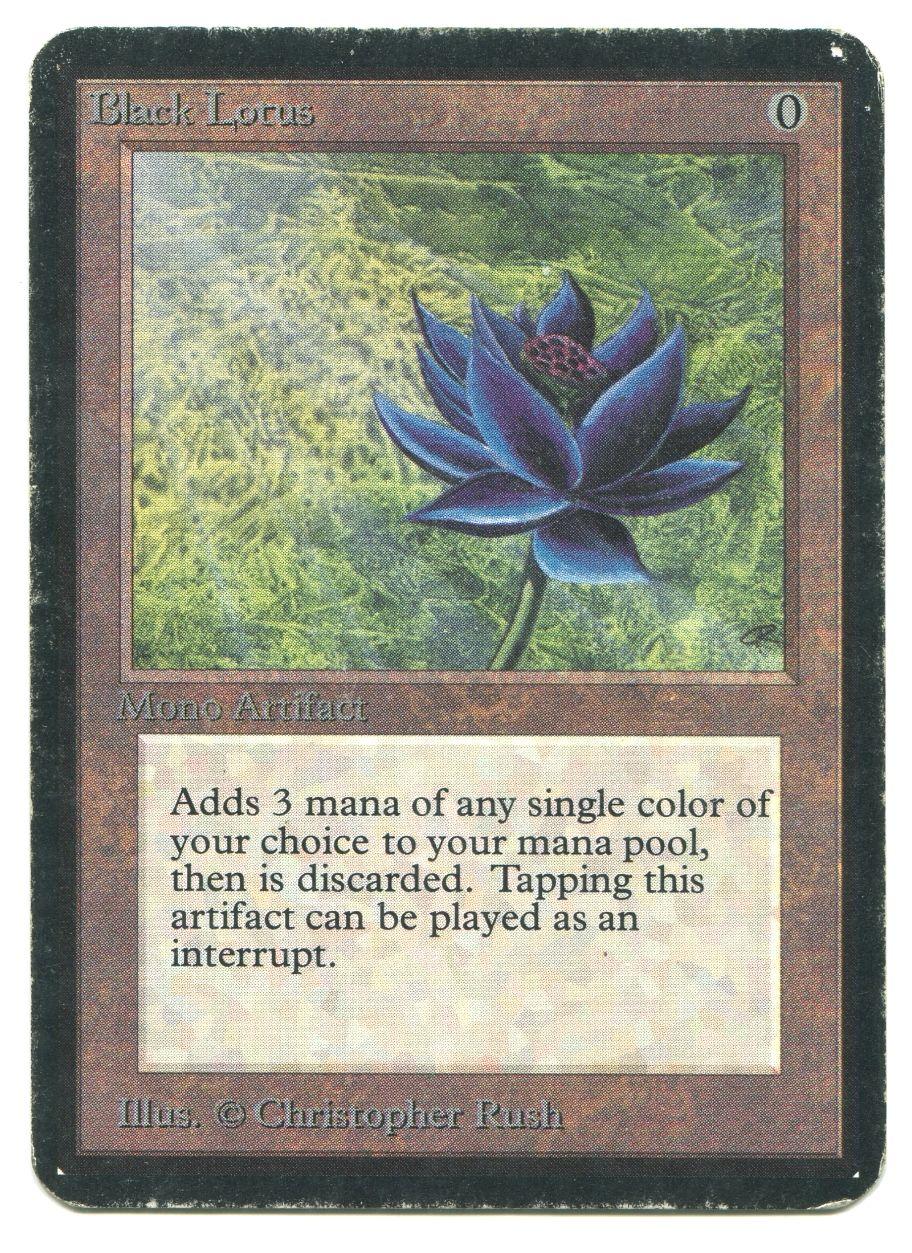 Image result for black lotus magic the gathering magic