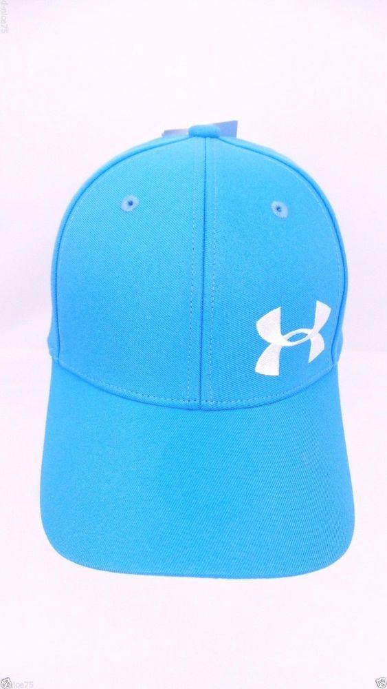 NEW Under Armour Youth Baseball Cap Hat Sky Blue Size Girls Youth OSFM   UnderArmour  BaseballCap cb953c808d5