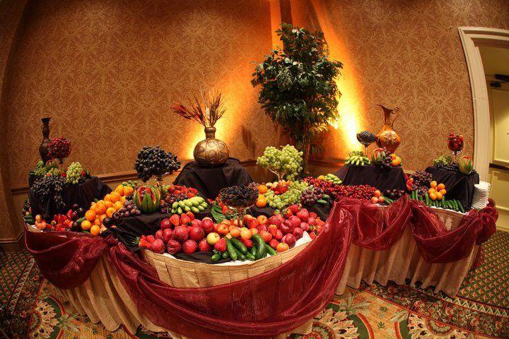 Fruit Tables For Weddings | Fairmont Newport Beach Wedding from ...