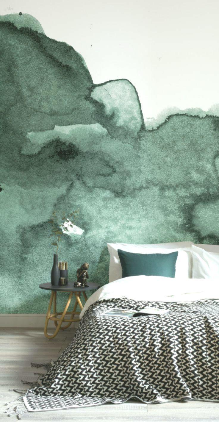 Photo of Pittura murale ad acquerello per un design artistico delle pareti in ogni stanza…