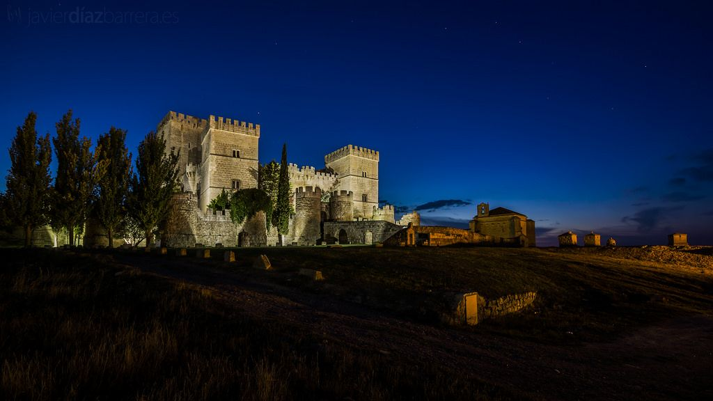 Ampudia Castle, Palencia, Castile and Leon, Spain. VIA.