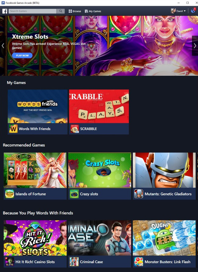 Facebook Could Be Launching Its First Gaming App For